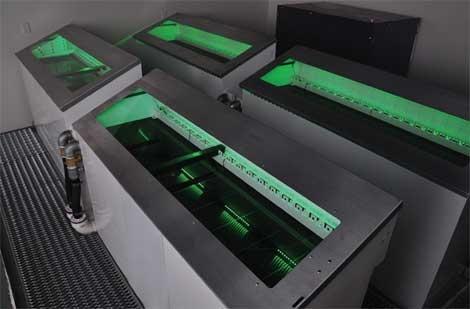 Green Revolution Cooling racks