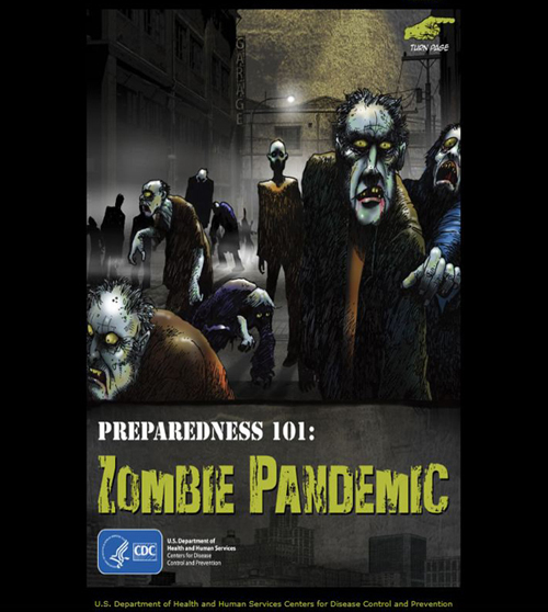 The CDC Has A Zombie Preparedness Novella Online