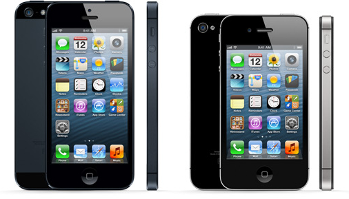 iPhone 5 v iPhone 4