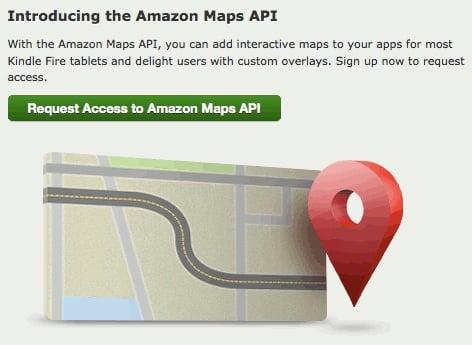 Amazon Maps API