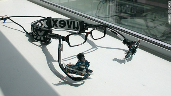 Eye-tracking glasses