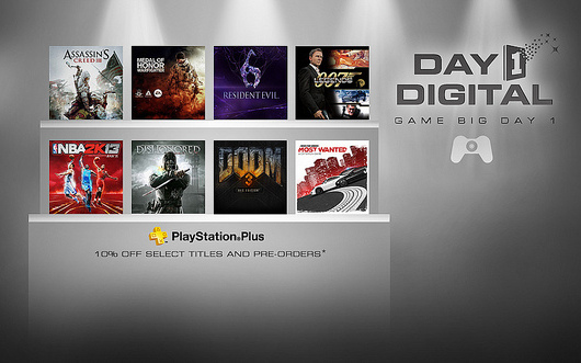 PSN Day 1 Digital