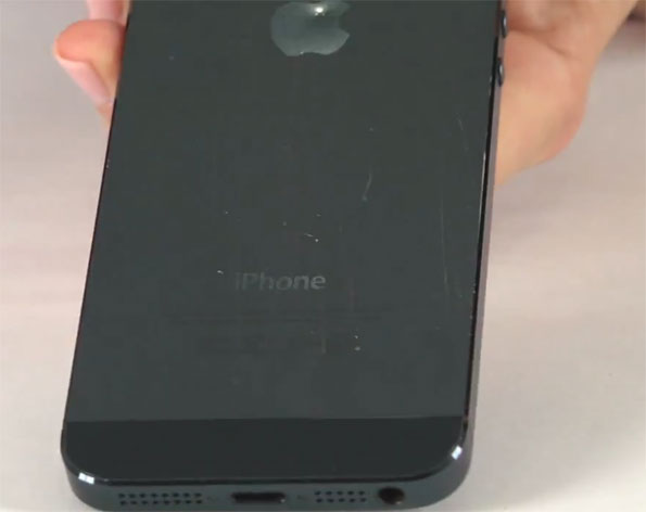 iPhone 5 Scratches
