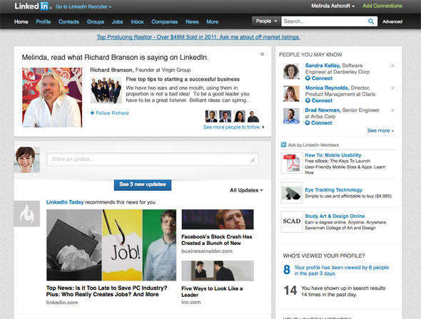 LinkedIn's New Influencer Updates