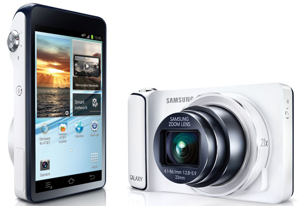 The Touchscreen On The Samsung Galaxy Camera Lets You Manage Photos And Android