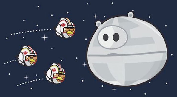 Angry birds star wars using the force on november 8 - Angry birds star wars 7 ...