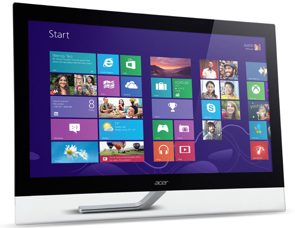Acer Aspire T232HL Touchscreen Display