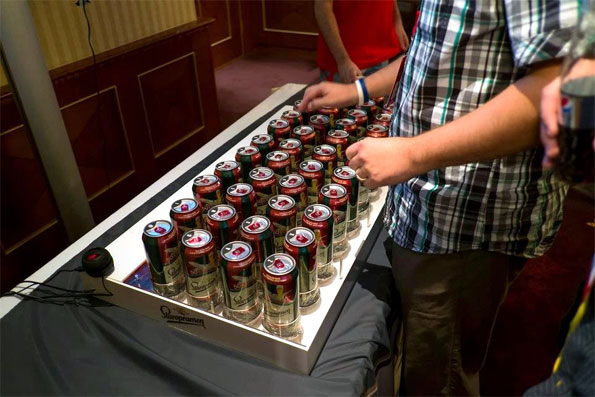 Beer Keyboard