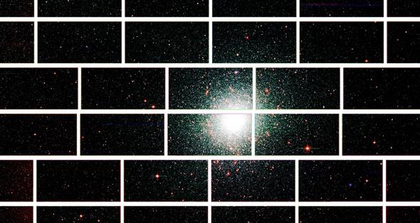 Galaxy Shot Taken By Dark Energy Camera