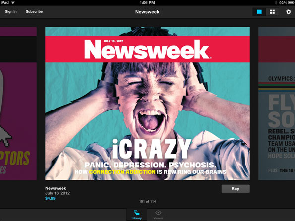 Newsweek Hangs Print Out to Dry, Going All Digital in Early