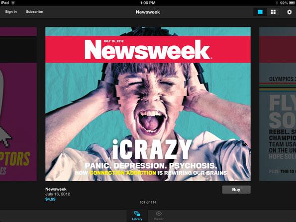 Newsweek iPad