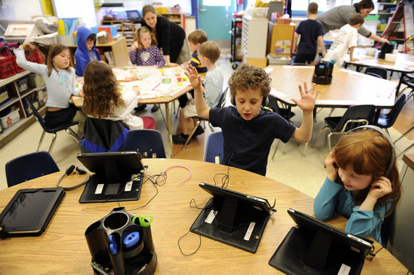 A Twist on the iPad Mini's Intended Purpose: The Classroom ... Ipads In The Classroom