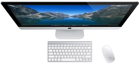 iMac Top View