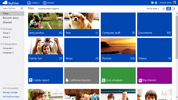 Outlook.com SkyDrive