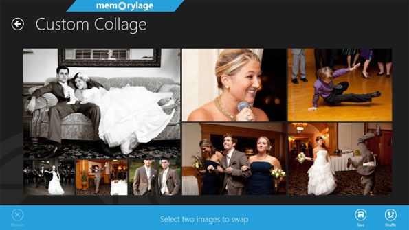 Memorylage app