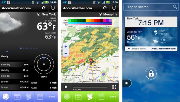 AccuWeather App for Android