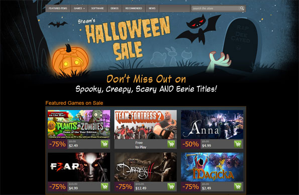 Steam Haloween
