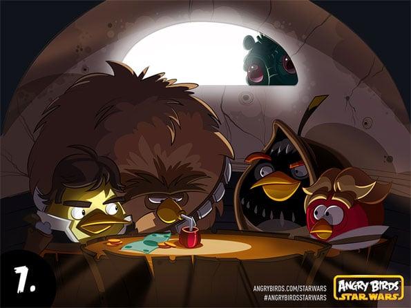 Angry Birds Cantina