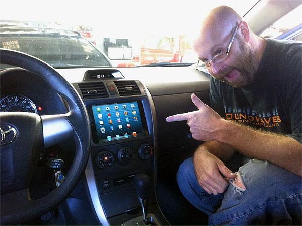 iPad Mini Dash