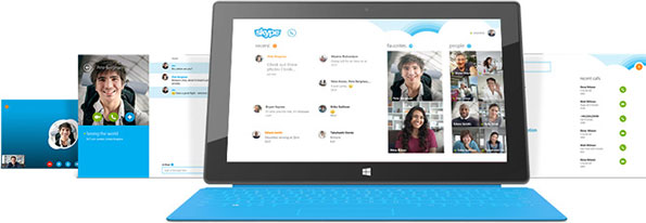 Skype on Surface