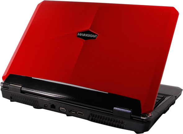 Maingear NOMAD 15 Laptop In Red