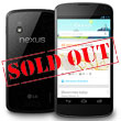 Google's Nexus 4 Inventory Wiped Out in Under an Hour