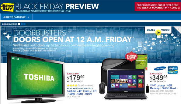 Best Buy Black Friday Preview