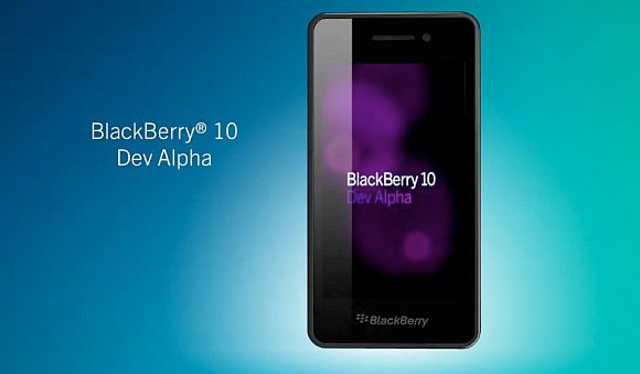 BlackBerry 10 Dev Alpha