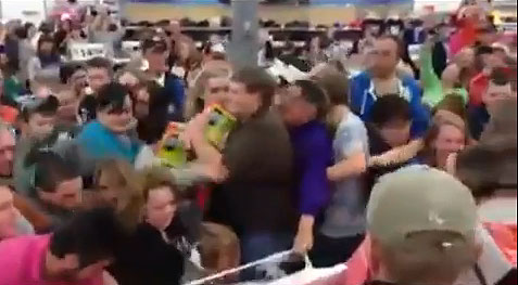 Walmart Scuffle