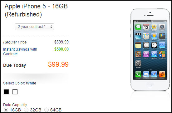 iPhone 5 at AT&T
