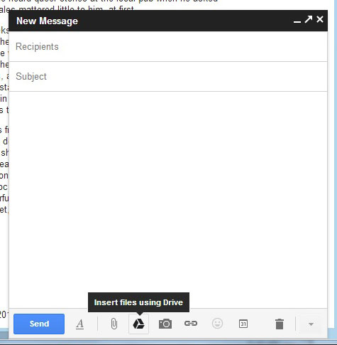 Google Gmail Now Links To Your Google Drive Emails