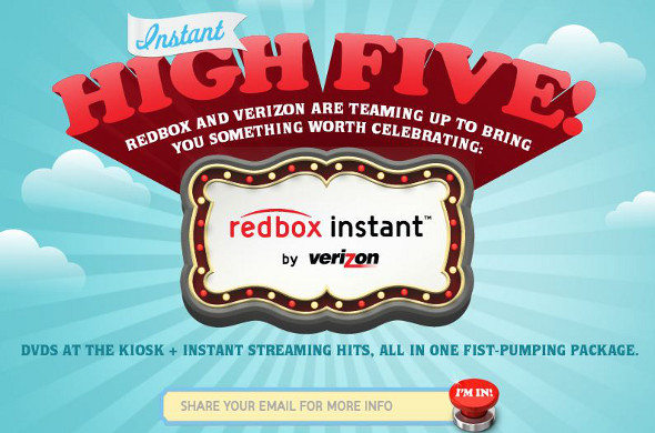 Redbox Instant for Verizon