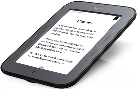 The NOOK Simple Touch Has A New Price Tag