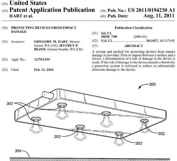 Mobile Airbag Patent