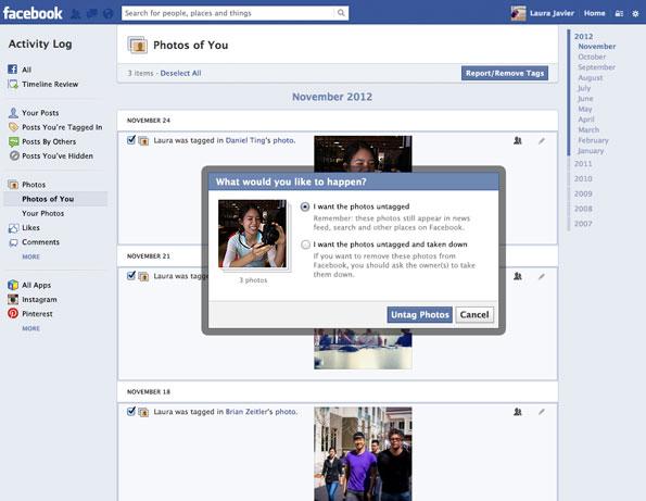 Facebook Photo Permissions