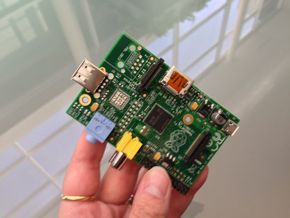 The Raspberry Pi Model A PC