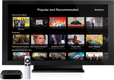 Apple TV Hulu