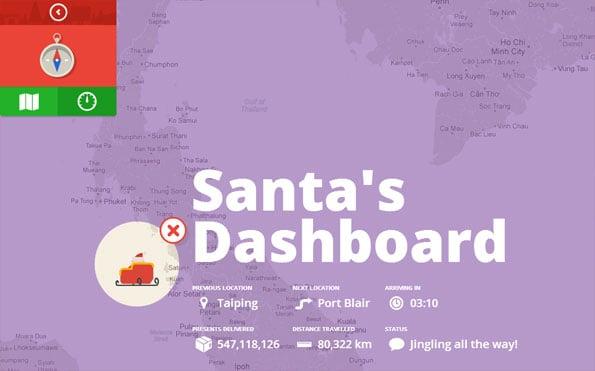 Santa's Dashboard on Google