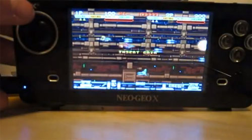 Neo Geo X Handheld Already