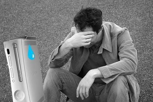 Sad gamer