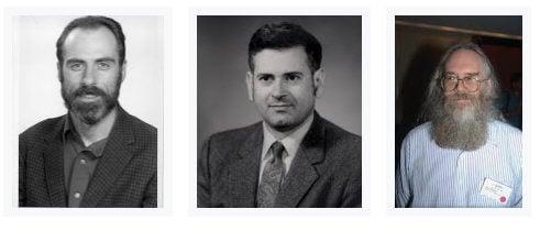 Vint Cerf, Robert Kahn, Jon Postel