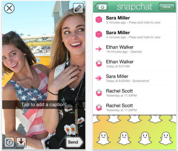 Snapchat Popularity Skyrockets Despite Competitive Facebook App