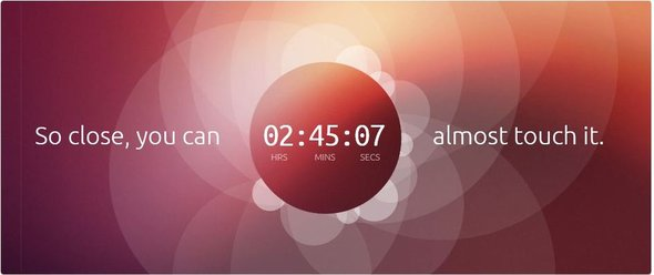 Canonical Ubuntu Tablet Countdown Clock