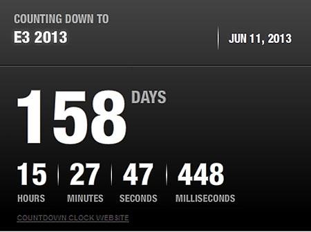 E3 Countdown Timer