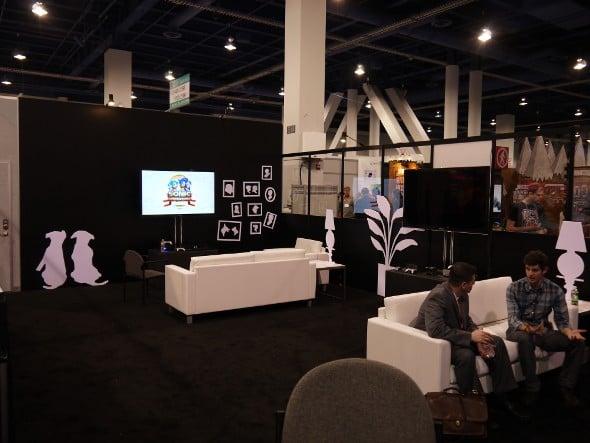 Valve booth