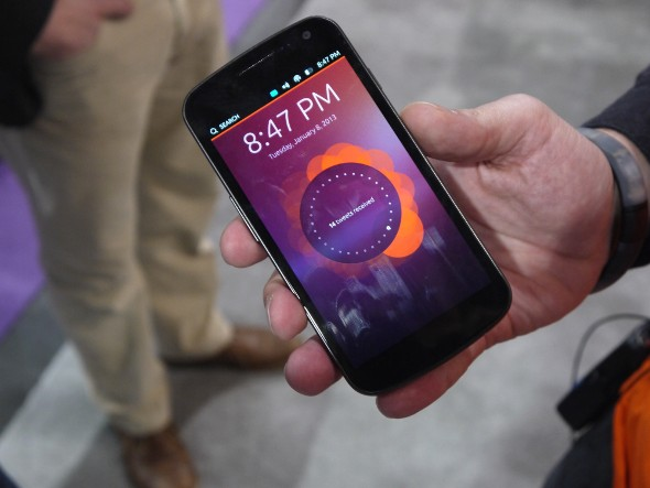 Ubuntu for smartphones