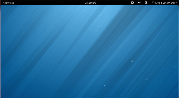 Fedora 18 Desktop