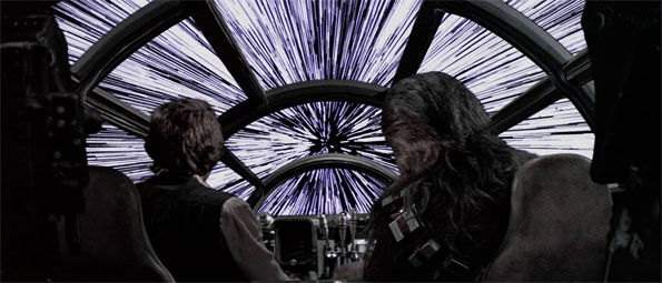 Hyperspace Travel in Star Wars