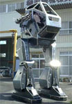 10' Tall Wearable Robot Suit With Guns