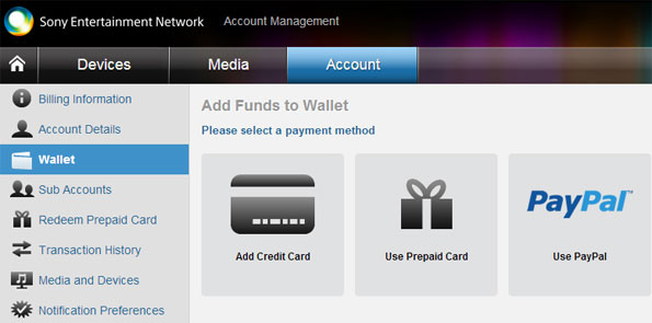 PSN PayPal